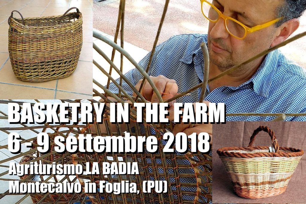 Basketry in the farm 6 - 9 sett 2018