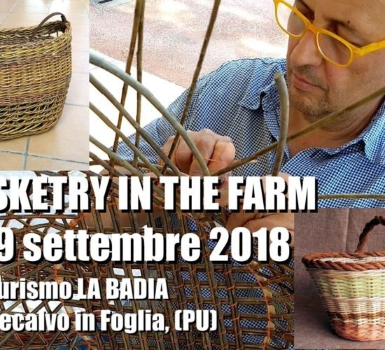 Basketry  in the Farm 2018