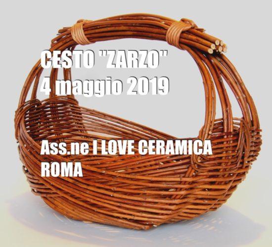 "Cesto ""ZARZO"" – ROMA"