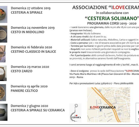 Corsi a roma 2019-2020