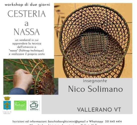Cesteria a Nassa – Vallerano (VT)